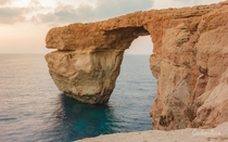 The Azure Window in Gozo the sister island of Malta  OC
