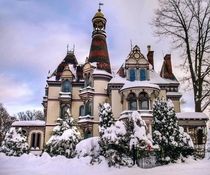 The Bacheller Mansion in Saratoga Springs NY - Nichols amp Halcott  Pictured here after the recent snowstorm