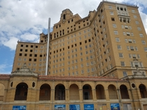 The Baker Hotel in Mineral Wells Texas Originally opened in the s and closed in the s Renovations are currently going on with plans to reopen in the future