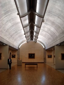 The Balanced Diffusion of Light inside the Kimbell Art Museum in Fort Worth Texas by Louis Kahn