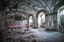 The Ballroom of a long past hotel in Detroit