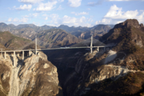 The Baluarte Bridge in Mexico