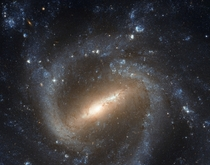 The Barred Spiral Galaxy - NGC