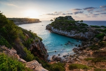 The beach of Calo des Moro Mallorca  photo by Dennis Fischer