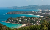 The beaches on the west coast of Phuket Thailand