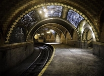 The Beautiful and Abandoned Subway Station underneath the feet of New Yorkers  Album in comments