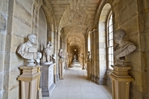 The beautiful Antiques Passage inside Castle Howard England