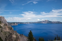 The Beautiful Blue of Crater Lake