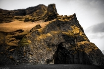 The beautiful cave of Reynisfjara Iceland