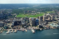 The beautiful city I grew up in Halifax Nova Scotia complete with star fort