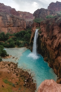 The beautiful desert oasis that is Havasu Falls Arizona