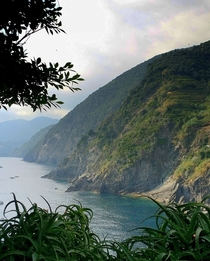 The beautiful Italian Riveria of Cinque Terre Italy