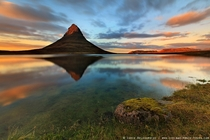 The Beautiful landscape of Kirkjufell Iceland Photo by Iurie Belegurschi