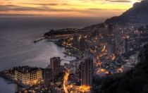 The beautiful Mediterranean principality of Monaco