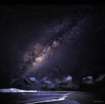 The beautiful Milky Way taken in one of the most darkest skies in the world over Boa Vista in the Cape Verde Islands  photo by James Atkinson