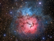 The Beautiful Trifid Nebula