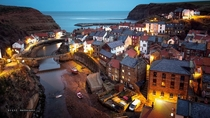 The Beautiful village of Staithes North Yorkshire England