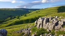 The beautiful Yorkshire Dales at Kettlewell England