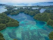 The beauty of Palau
