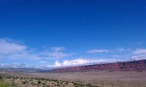 The beginning of the Vermillion Cliffs AZ