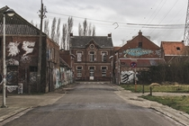 The Belgian ghost town of Doel