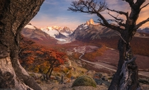 The best lookout over Fitz Roy and Cerro Torre Patagonia Argentina  by marcograssiphotography