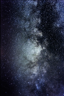 The best Milky Way picture Ive taken to date