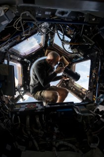 The best seat in the house NASA astronaut Chris Cassidy snaps pictures of earth with a mm lens