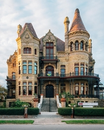 The Bishops Palace in Galveston TX