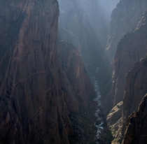 The Black Canyon of the Gunnison CO