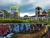 The Blub - an abandoned water park in Berlin