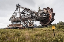 The Blue Miracle The largest piece of abandoned machinery in the world