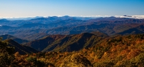 The Blue Ridge Mountains of NC
