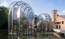 The Bombay Sapphire Distillery by Thomas Heatherwick