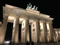 The Brandenburg Gate Brandenburger Tor is a neoclassical monument in Berlin built -  OC