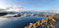 The breaking up of Vatnajkull Glacier Jkulsrln Lagoon Iceland
