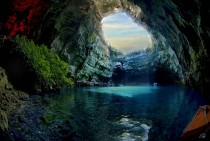 The Breathtaking Melissani Cave in Greece  mic