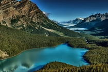 The Breathtaking Peyto Lake in Banff Alberta Photo by Angie_