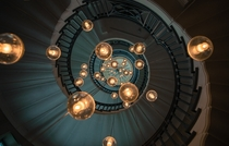 The Brewer staircase at Heals Tottenham Court Road London  Photographed by Michal Dzierza