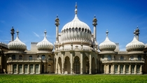 The Brighton Pavilion merged British and Indian architecture