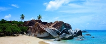 The British Virgin Islands are incredibly beautiful especially at the Baths on Virgin Gorda  Photo by Michael Dale