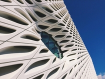 The Broad museum in downtown Los Angeles Designed by Diller Scofidio  Renfro