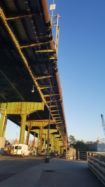 The Brooklyn-Queens Expressway BQE One of New Yorks elevated Highways