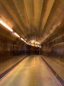 The Brunkeberg Tunnel in Norrmalm Stockholm is a -metre-long passageway for pedestrians through the esker Brunkebergssen The tunnel was inaugurated in  by King Oscar II