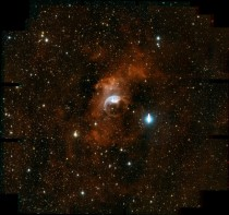 The Bubble Nebula NGC