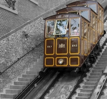 The Budapest Castle Hill Funicular  Photographed by Marek Matkowski