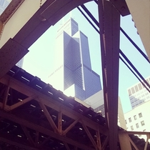 The building formerly known as The Sears Tower Chicago Sept   X