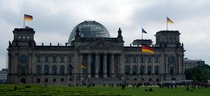 The Bundestag Berlin Germany -