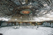 The Buzludzha Monument Bulgaria Buzludzha  x-post from rtravel_hd