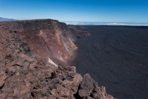 The caldera of Mauna Loa Big Island HI